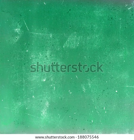 Green distressed background