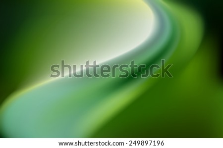 green emerald silk background with some soft folds - stock photo