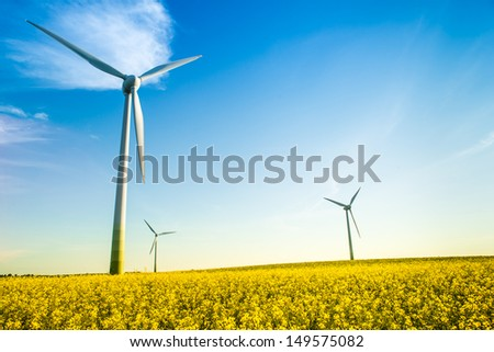 green energy - stock photo