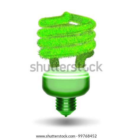 green energy and nature protection concept