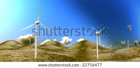 Green energy windmill