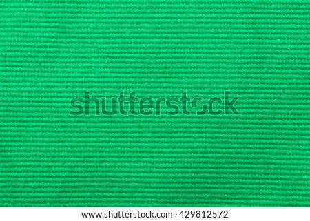 Green Fabric - stock photo