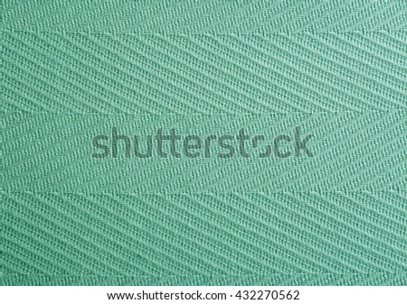 Green fabric texture background - stock photo