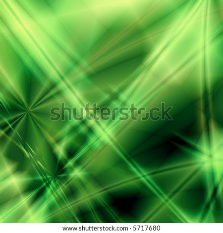 Green fantasy background - stock photo