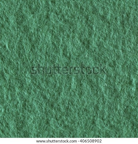 Green felt as background or texture. Seamless square texture. Tile ready. - stock photo