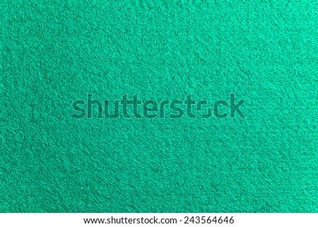 Green felt on casino table - stock photo