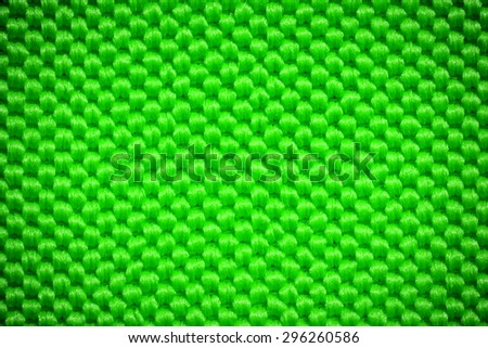 Green fiber textile background - stock photo