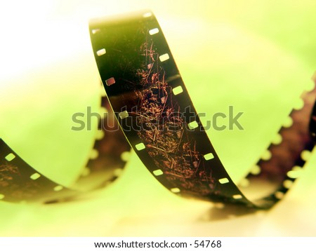 Green Film - stock photo
