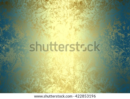 Green golden abstract   background for  design
