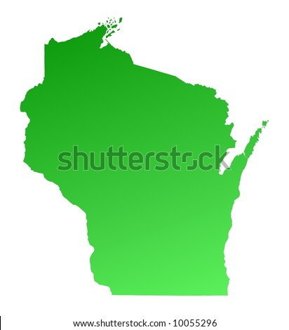 Wisconsin Map Stock Images RoyaltyFree Images Vectors - Usa wisconsin map