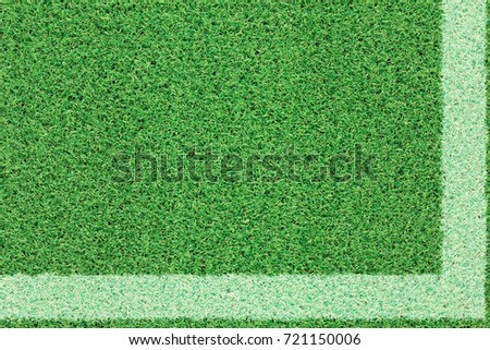 Green grass soccer field and football field background