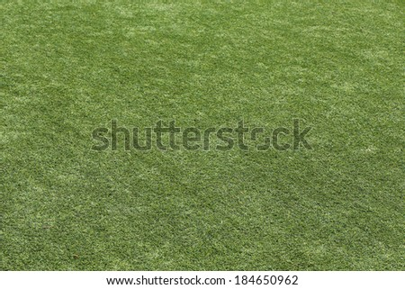 green grass turf texture background - stock photo