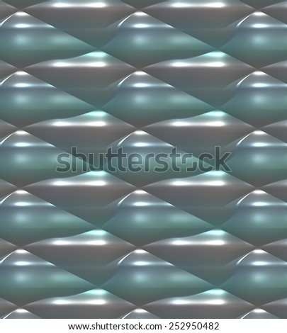 Green, grey and white glowing abstract background in unique pattern. A modern digital art backdrop or wallpaper in an original texture for use in web site work or any art and design project. - stock photo