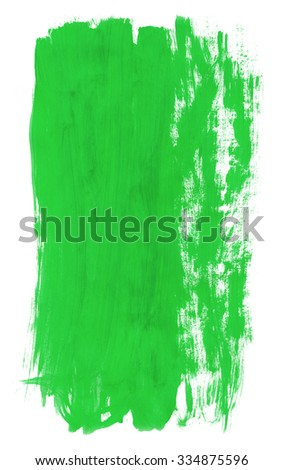 green-hand-painted-brush-stroke-background