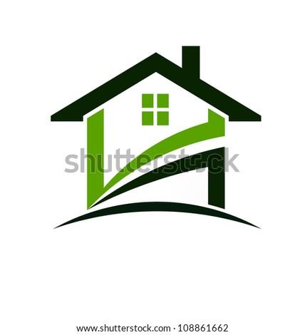 Green house - stock photo