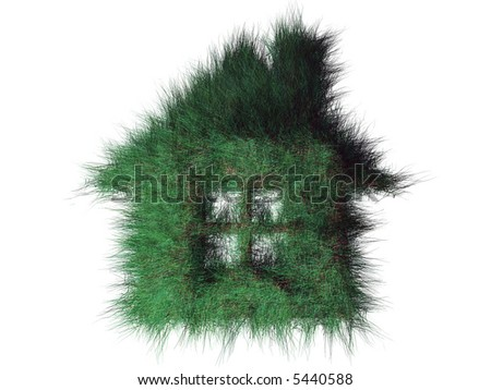 Green house - stock photo