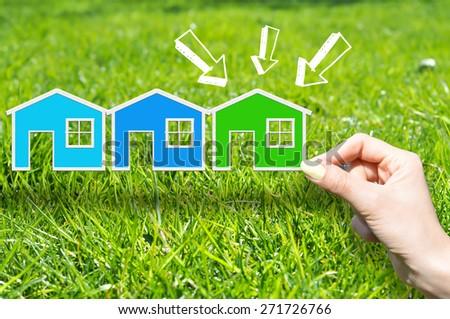 Green house concept - stock photo