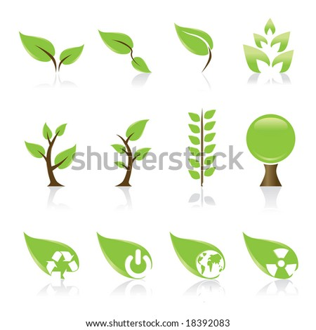 Green icons set(vector version in my portfolio already)