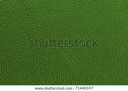green leather background - stock photo