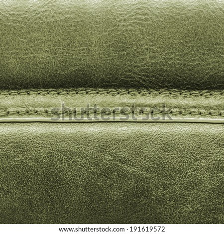 green leather texture, seams