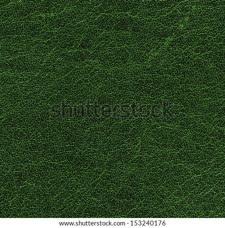 green  leather texture . Useful as background for design-works.