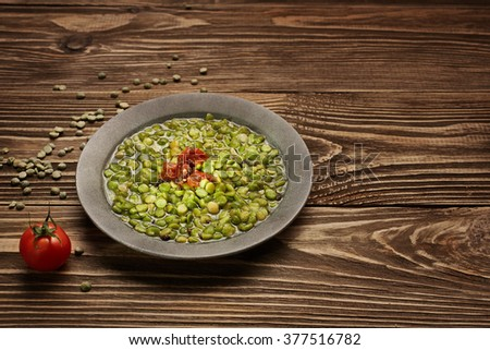 how to cook green lentils dried