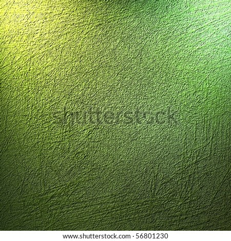 green lighted high texture background - stock photo