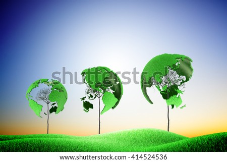Green low carbon environment low carbon environment Green