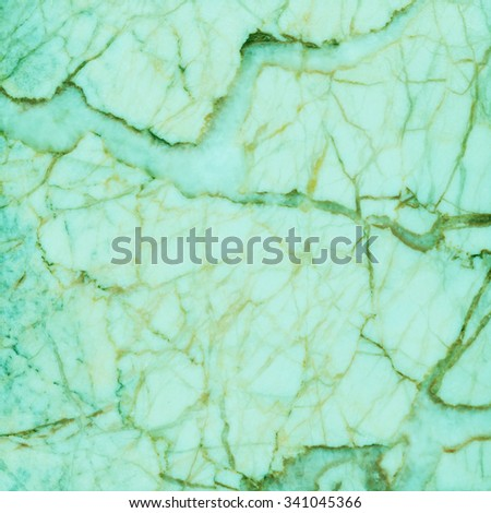 Green marble texture background. - stock photo