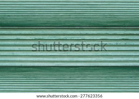 Green metal sheet texture background. - stock photo