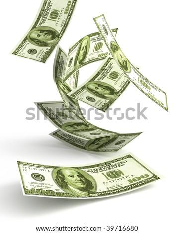 Green Money - stock photo