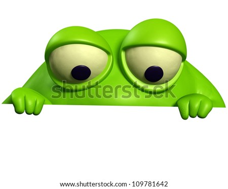green monster - stock photo