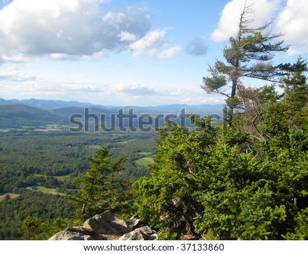 Green Mountains, Vermont - stock photo