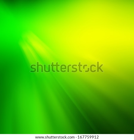 Green Nature Background With Line - stock photo