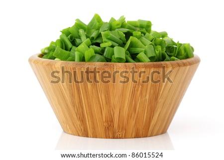 Green Onions - stock photo
