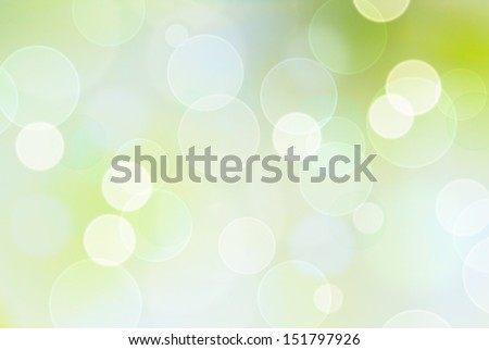 green or blue bokeh background , vintage style - stock photo