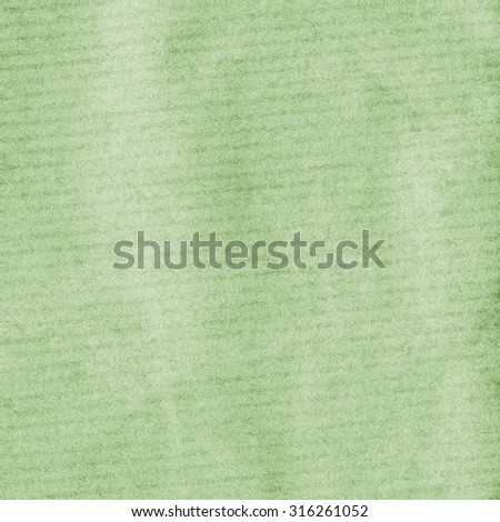 green packing paper texture closeup,