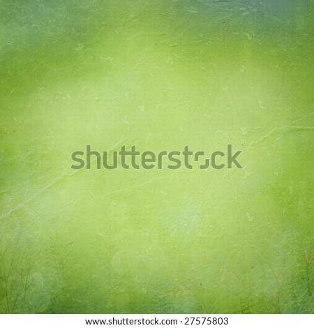 Green paper textured background