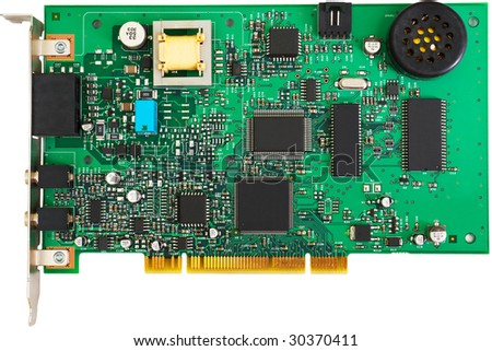 Green PCI card
