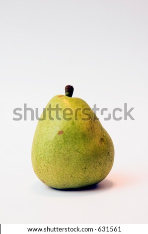Green Pear - stock photo