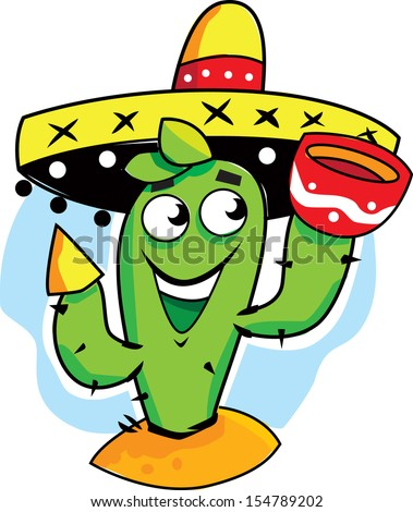 Green Pepper Sombrero