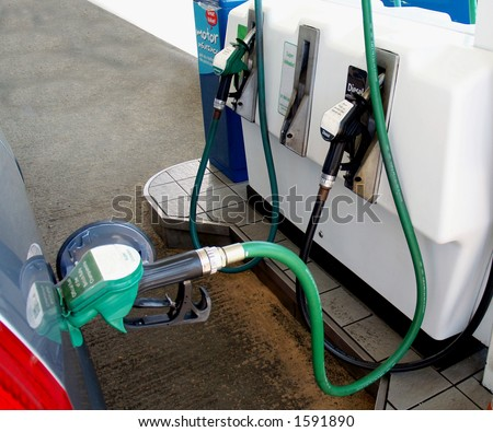 Green Petrol Snake or Pipe
