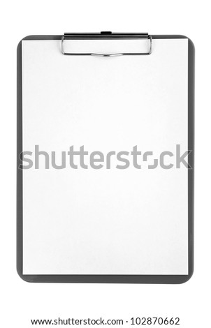 green plate with a piece of paper on a white background