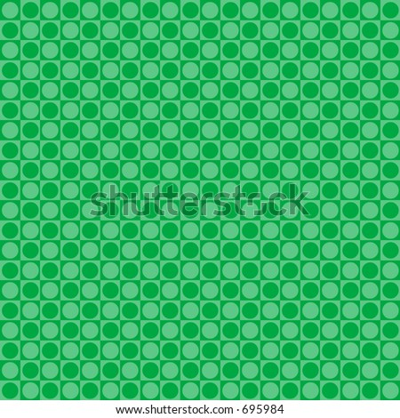 Green retro dot background - stock photo