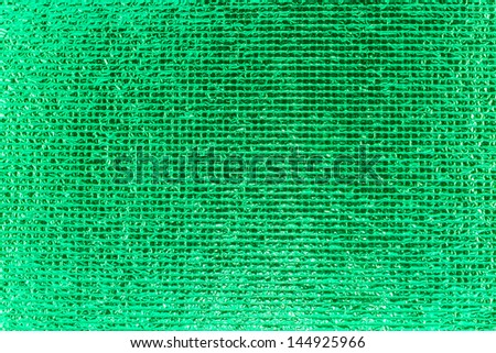 Green Sequins background - stock photo