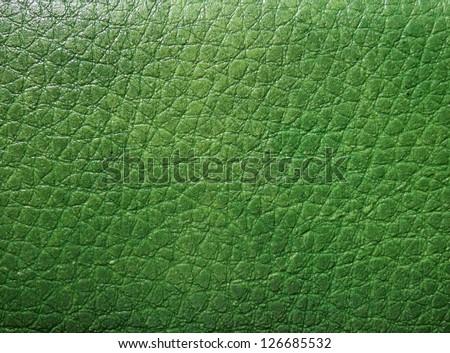 Green skin texture - stock photo