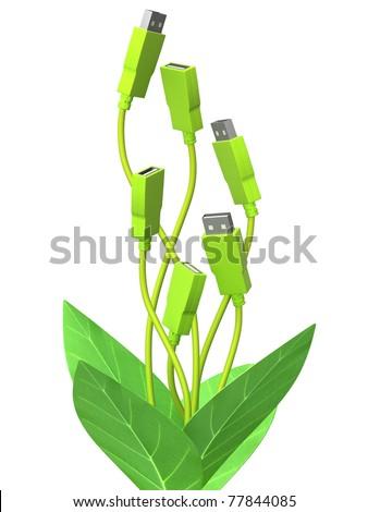 Green technology - stock photo
