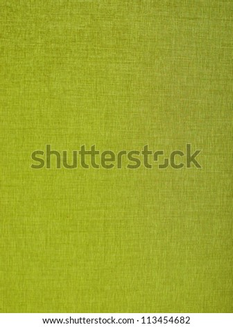 Green texture of a curtain in a close up photo - stock photo