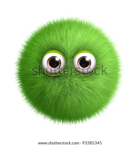 green toy - stock photo