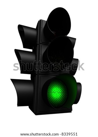 green trafficlight